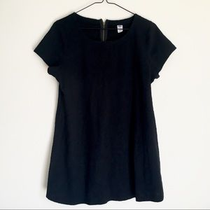 Maternity Old Navy Black Floral Embroidered Top